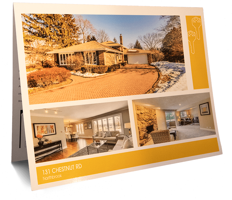 Brochur High Glossy for Real Estate Agent